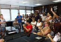 Prefeita Ana Preto anuncia aumento de 7% para funcionalismo municipal Segue Anexo : Foto Divulgação