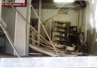 Bandidos rendem vigias e explodem posto bancário durante assalto no PI