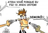 Deputados da Baixada não apoiam a Redução da Maioridade Penal.